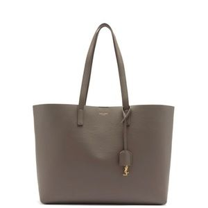 Saint Laurent shopping East west tote dusty grey